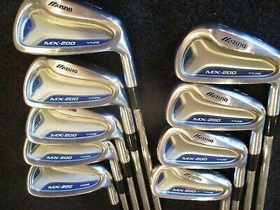 Mizuno MX 200 Iron Set 4-SW (9 clubs) S300 Stiff Steel