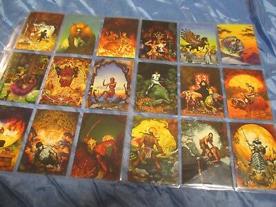 Trading Cards  1994 ,  Don Maitz ,  Fantasy  Kunst  Sammelbilder / # 139