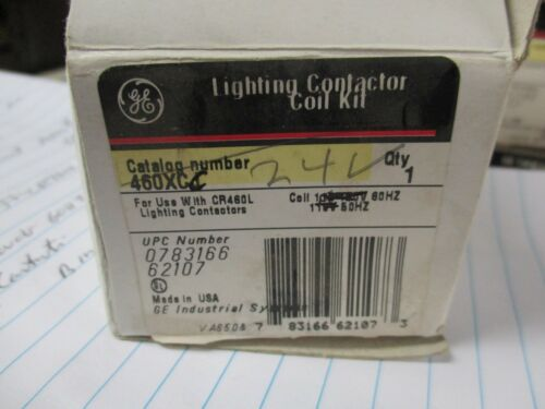 GE CR460XCC, 24 VOLT COIL FOR USE WITH CR460L CONTACTOR- NEW