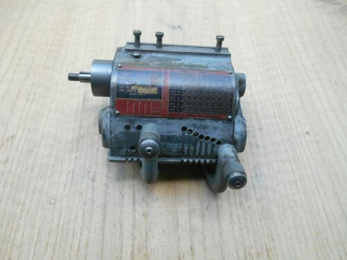 South bend lathe 9 10K quick change gearbox