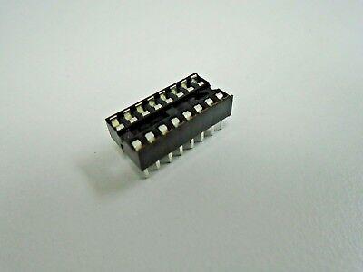 16 Pin Dip Ic Chip Socket - Replacement Socket 16 Pin Tab Aitron T02-16 Pack 5