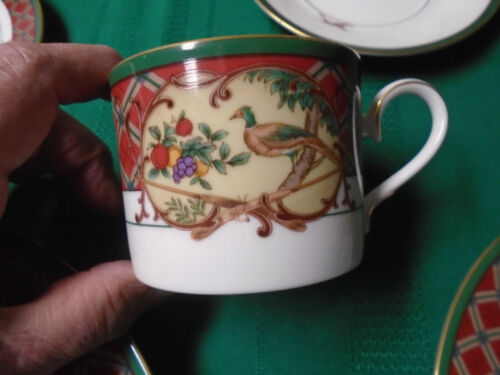 Set of 2 Noritake ROYAL HUNT China Cups & Saucers MINT CONDITION