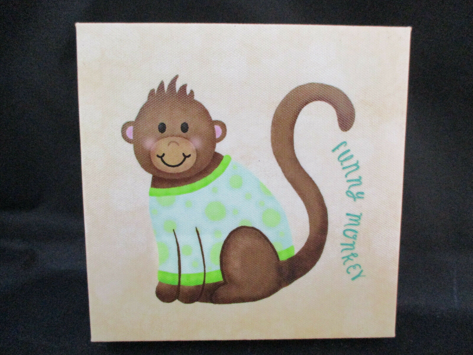 Set 4 Nursery Wall Vinyl Pictures BABY SAFARI III Roaring Brook Art Co 6 CUTE - $14.99