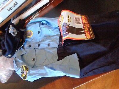 Pottery Barn Kids Junior Jr. Halloween Police officer costume 2 3  New