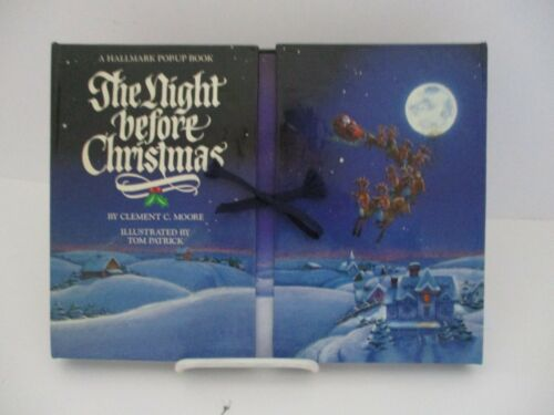 HALLMARK 1988 Pop-Up The Night Before Christmas Hardcover Clement Moore