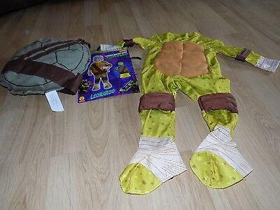 Toddler Size 2T TMNT Teenage Mutant Ninja Turtles Leonardo Costume No Headpiece