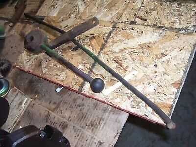 Vintage Oliver 1850 Gas Row Crop Tractor -3 Spd Trans Lever Rod - 1969