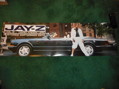 JAY-Z - VOL. 2...HARD KNOCK LIFE - ORIGINAL SS POSTER - 1998