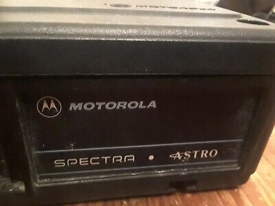 Motorola Systems 9000 Spectra Astro Amplifier Siren Pa Emergency Warning