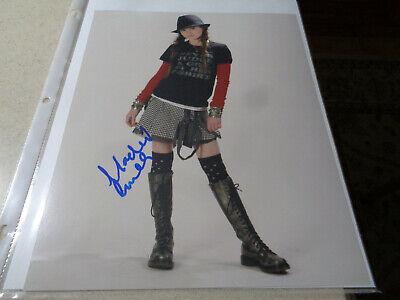 Madeline Carroll - rare signed 8x10 color photo w/COA