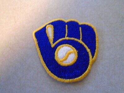 BASEBALL GLOVE PATCH MILWAUKEE BREWERS  ](Milwaukee Brewers Baseball)