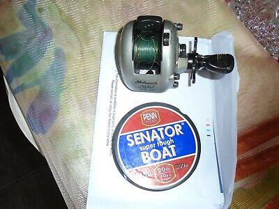 Shakespeare Alpha 2913-315 reel plus Penn Senator super tough boat