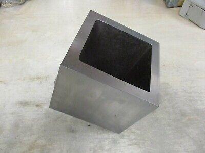 Machinist Angle Plate Square Box 5-78 X 5-78 X 5-516 Grind Finish
