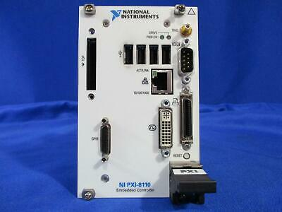 National Instruments PXI-8110 2.26 GHz Quad-Core Embedded Controller for PXI