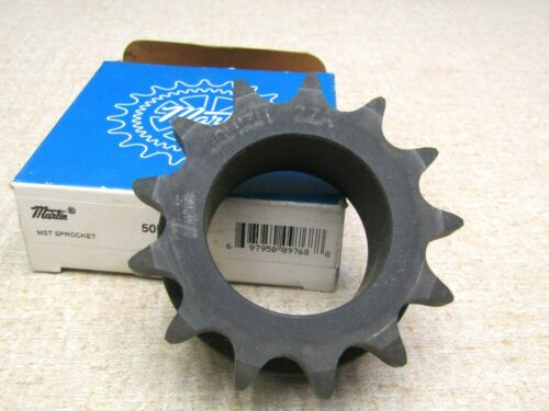 Martin Sprocket 50H13H  #50, 13 Teeth Hardened Teeth H Bushing Bore