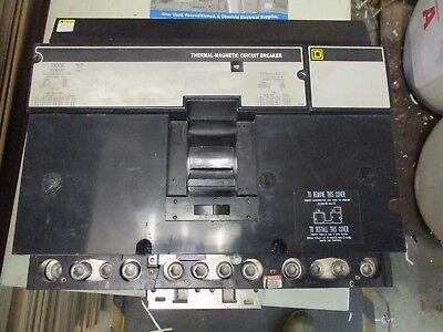 Square D Na361000 1000 Amp 600 Volt I Line- Warranty Recon W Test Report