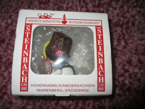 Steinbach VTG Wooden Christmas Ornament Germany with box     FREE SHIPPING!