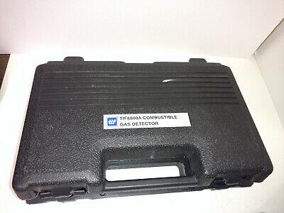 Tif 8800a Combustible Permissable Gas Detector Portable Handheld Msha