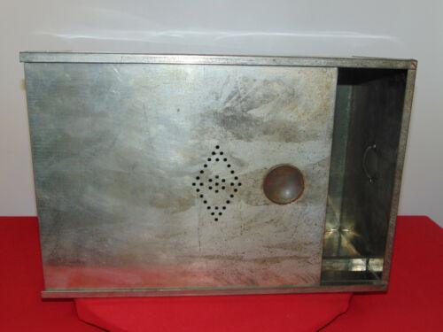Hoosier Metal Breadbox