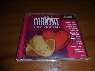 Classic Country Love Songs Vol. 2 by The Countdown Singers (CD 2001 Madacy) Used Classic Country Love Songs