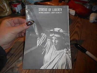 Vintage Brochure Statue of Liberty