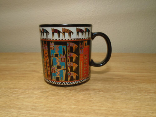 Vintage Laurel Burch Egypticats Coffee Mug 1990