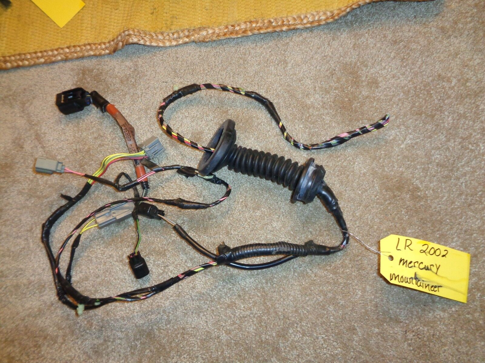 Used 2002 Mercury Mountaineer Interior Door Panels And Parts For Sale 1941 Ford Wiring Harness Lr Left Rear Wire B