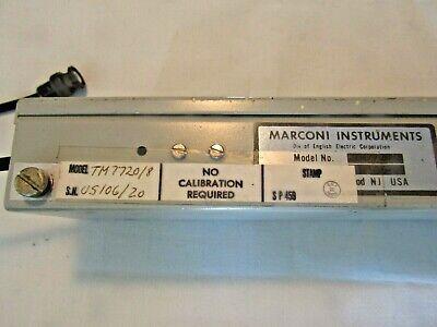 Marconi Instruments Tm77208 60kcs Low Pass Filter