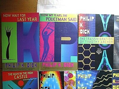 15 Philip K. Dick Trade Paperbacks Androids Dream Ubik Scanner Darkly PKD