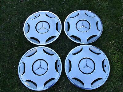 Mercedes Benz W124 E-Klasse W202 C-Klasse Radkappen mit Chromrand 15 Zoll