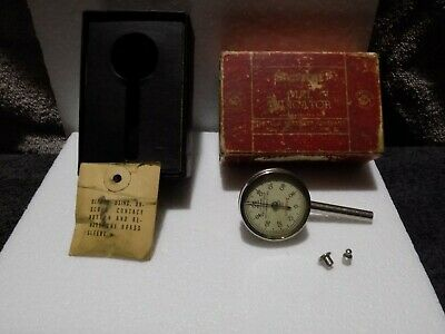 Starrett Dial Test Indicator Plunger No.196b Jeweled Inspection Tool .001 Cnc