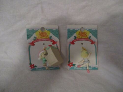 Precious Moments Miniature Ornament Home For The Holidays Year 1996 Mixed Lot 2