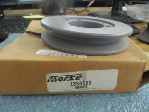 Morse Model: 1B50SDS  Deep Groove Sheave.  W50009.  New Old Stock  <