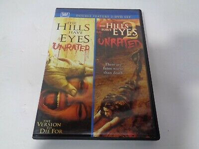 The Hills Have Eyes 1 & 2 - DVD Unrated Double Feature Movie Film