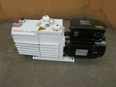 Pfeiffer Twin 20-10 M Pkd53712 .9kw Vacuum Pump 100-120200-240v 1ph 1740rpm