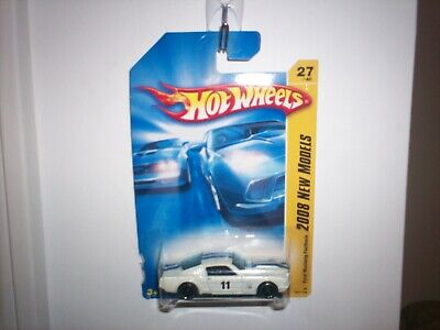 HOT WHEELS 2008 NEW MODELS FORD MUSTANG FASTBACK 27/40 Pearl White