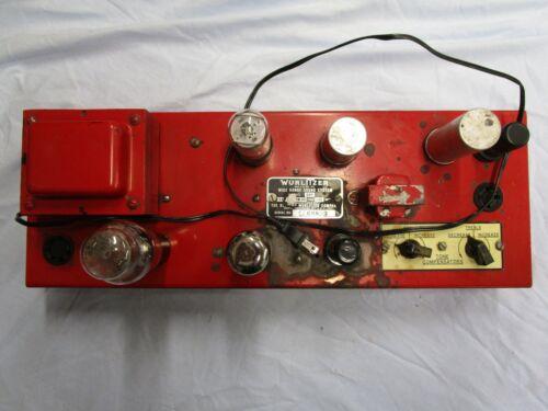 WURLITZER MODEL 503 AMPLIFIER (80920-4)