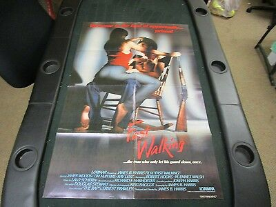 1 sheet 27x41 Movie Poster Fast Walking 1982 James Woods Tim McIntire Kay Lenz
