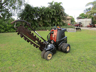 "Ditch Witch - Zahn - 48"" Trencher Articulaing Steering 2 wheel drive"