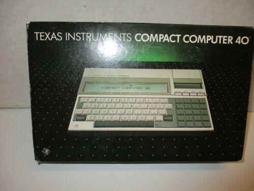 Texas Instruments Compact Computer 40   TI CC 40