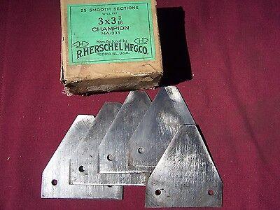 5 Vintage Champion Sickle Bar Mower Blades
