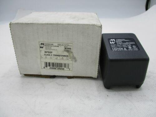 NEW HAMMOND BPD2F CLASS 2 TRANSFORMER PRI 120V SEC. 16V MODEL A5-AC1620VA-2S