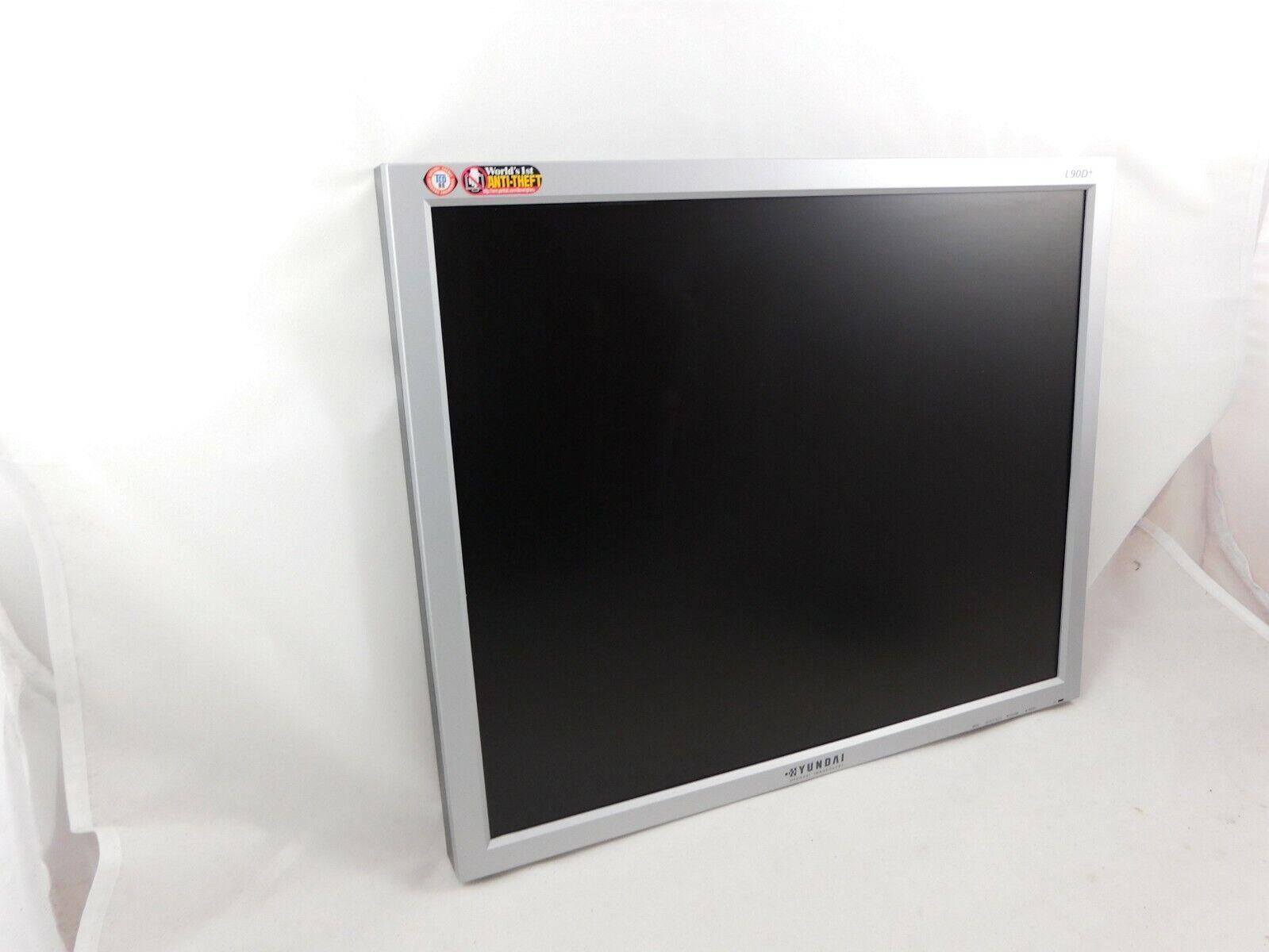 Hyundai L90D 48,3 cm (19 Zoll) Monitor Bildschirm 500:1, VGA DVI ohne Ständer