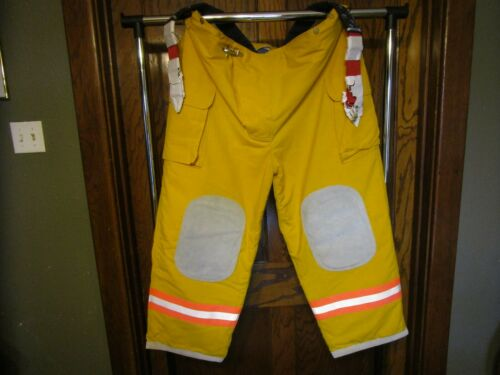 Firefighter Pants Trouser Turnout Gear Fireman Size 4XL x 30