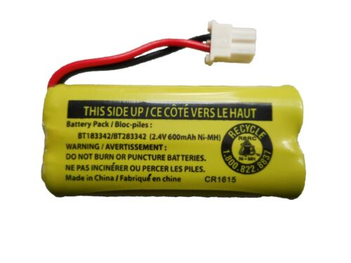 Battery BT183342 / BT283342 for Vtech AT&T Cordless Telephones CL80111 EL52300