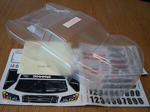 Traxxas 1/10 Slash Clear Body w/ Decals 6811 Fits all 4wd 2wd 4x4 6804 6807 6808