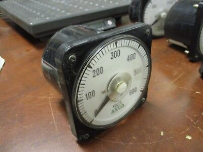 Asco Yokogawa Ac Volt Meter 103021rssj7mnrp Range 0-600v Used