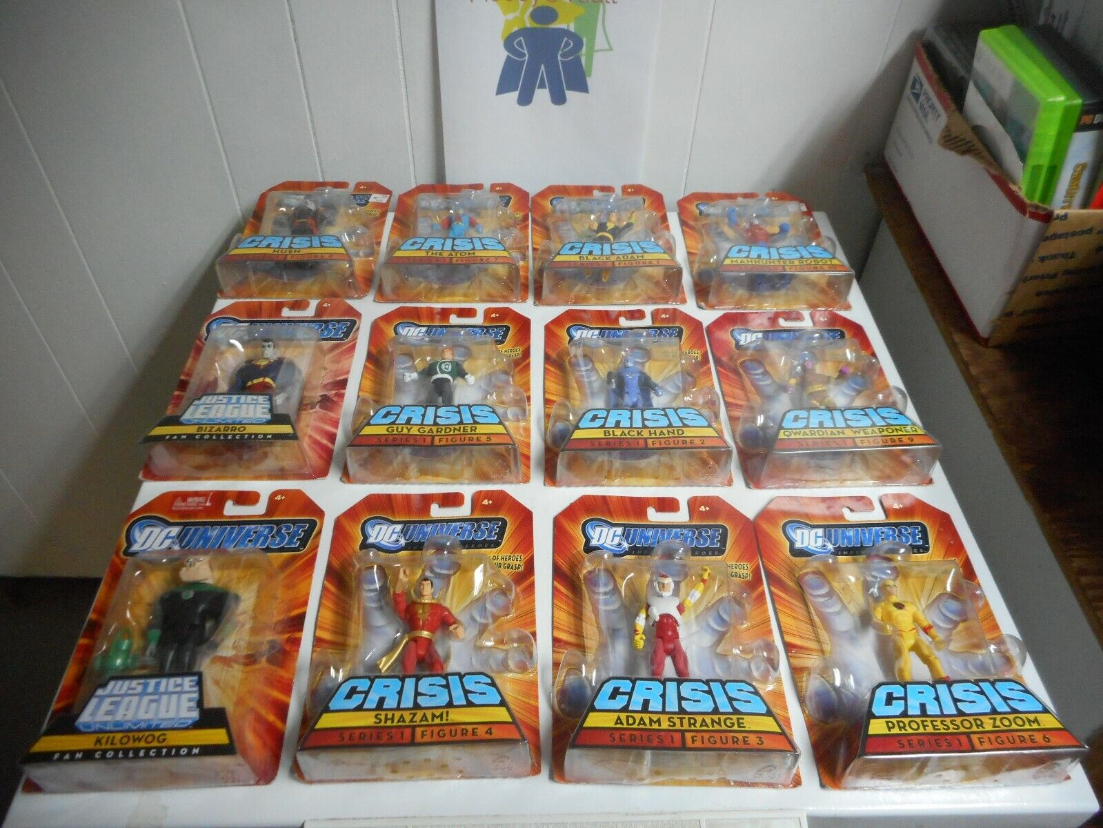 Mattel DC Universe 3.75in Action Figures