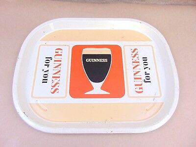 Vintage Hancock Corfield & Waller Guinness beer Tray - 1950s 60s - Very Rare