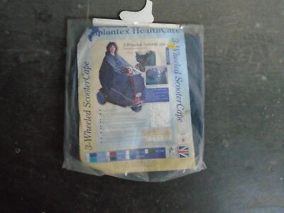 SIMPLANTEX 3 WHEELED SCOOTER CAPE. SIZE SMALL. COLOUR NAVY.
